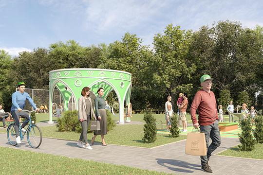 Это будет открытый для всех современный посёлок, синфраструктурой, магазинами, общественными пространствами для отдыха испорта