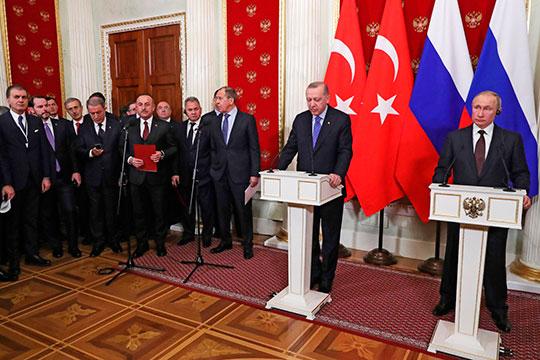 «Разговор с Путиным — это разговор с человеком, с которым Эрдоган хочет решать вопросы»