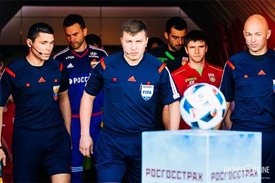 «Рубин» в субботу после матча с «Краснодаром» несколько часов составлял официальную претензию по работе Вилкова