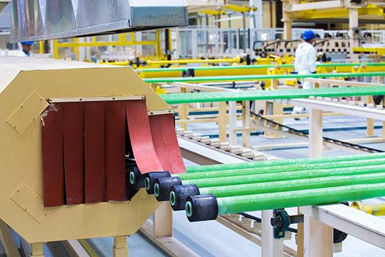 «Мыпланируем внедрить RFID-метки, которые уже используются для сбора производственной статистики иидентификации продукции напроизводстве стеклопластиковых труб»