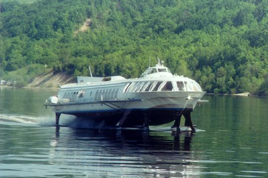 Метеор - самое массовое в мире судно на подводных крыльях