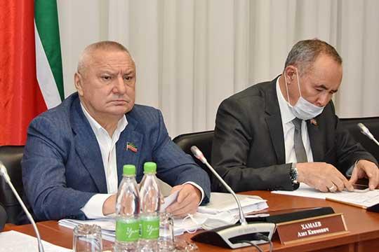 Азат Хамаев посоветовал Алле Анфимовой приготовить презентацию, так как такой объем информации очень сложно воспринимать на слух