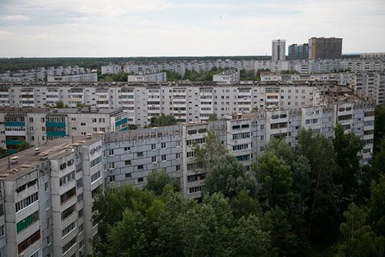 Средняя цена вторичного квадратного метра в Казани составила 79,5 тыс. руб., что на 2,8% больше, чем в сентябре 2019 года