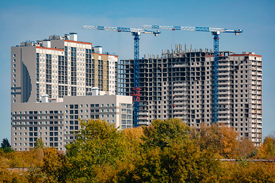 По данным управления Росреестра РТ число сделок на первичном рынке Татарстана по отношению к сентябрю 2019 года выросло в минувшем месяце аж на 73%