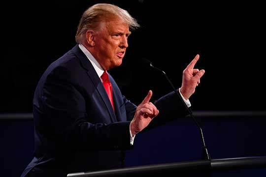 Победу Трампу отдали лишь39%. Ноэтот результат для Трампа лучше, чем после первых дебатов: тогда занего высказались лишь 28% респондентов