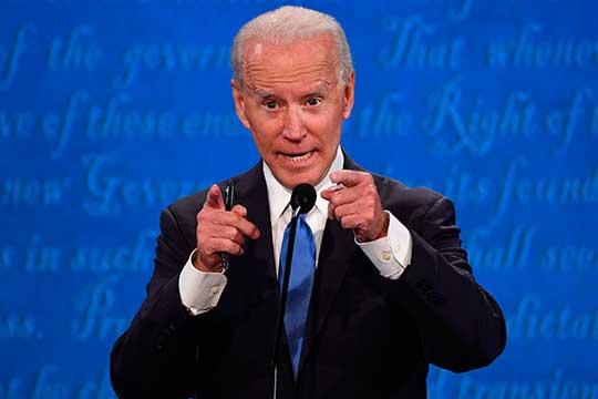 Последние дебаты вновь остались заБайденом. Так считают 53% опрошенных телеканалом избирателей