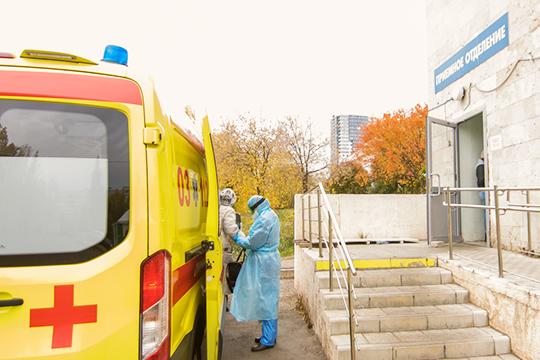 На15октября вгородских стационарах нагоспитализации находится 914 пациентов, изних 7— сподтвержденным анализом наCOVID-19