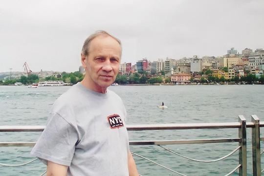 В ожидании парома для переправы из европейской в азиатскую часть Стамбула