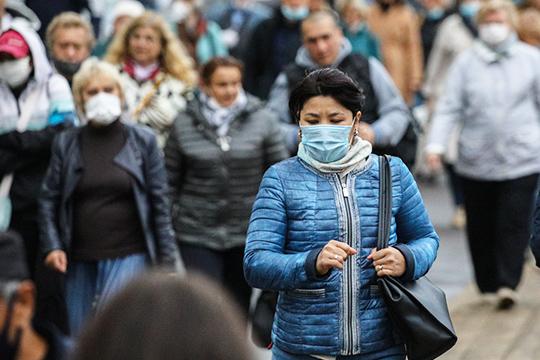 Россия выйдет наплато позаболеваемости коронавирусом только тогда, когда все начнут соблюдать противоэпидемиологические требования