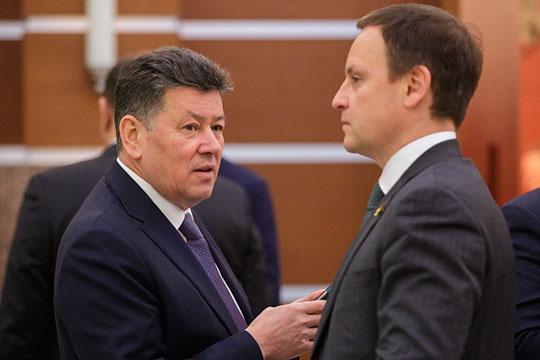 Наши источники утверждают, что в следующем созыве нижней палаты парламента не найдется места бывшему замгендиректора АО «Казметрострой» Иршату Минкину (слева)