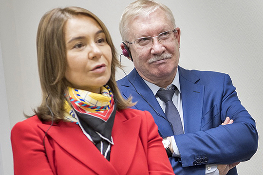 В случае с Олегом Морозовым (справа), у Татарстана может оказаться дополнительный представитель в Госсовете РФ. Маловероятно, что покинет Госдуму Альфия Когогина (слева)