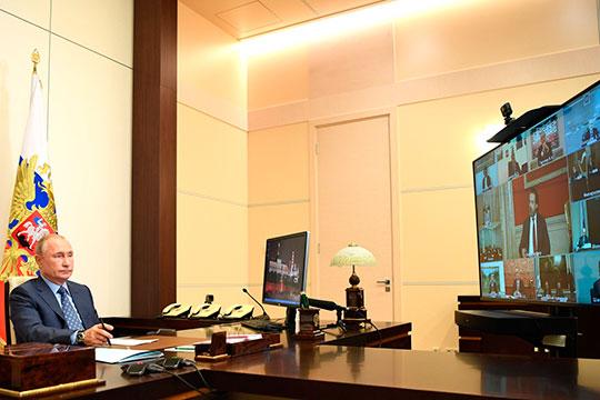 Заседания Совета по культуре и искусству при президенте РФ прошло в привычном нынче онлайн-формате. Путин был у себя в Ново-Огарево, а маститые деятели культуры распределились по различным локациям