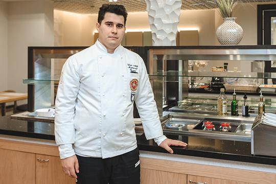 Самат Миргалиев: «Ресторанный бизнес совсем по-другому работает, нежели со спортсменами. В «Рубине» у меня более ответственная работа. Мне очень нравится. Я пришёл в клуб ещё при Курбане Бекиевиче»