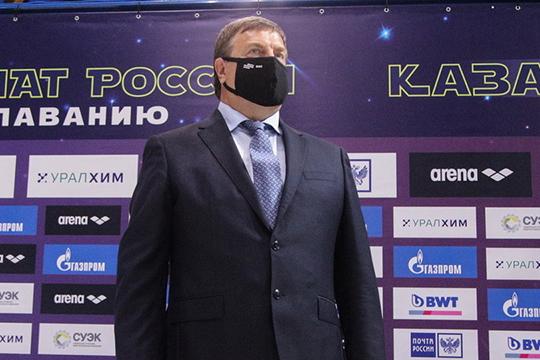 Владимир Сальников: «У вас каждый год проводят соревнования по водным видам: и по плаванию, и по прыжкам в воду, и по синхронному плаванию»
