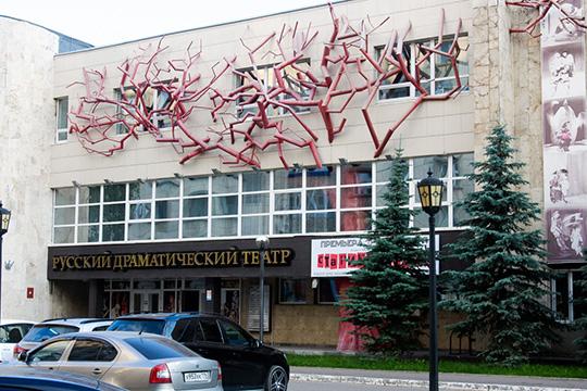 Более 10 лет театр размещается вбывшем здании «Интерклуба»— впрошлом камазовского административного помещения