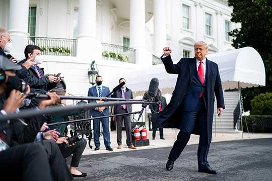 «Трампу удалось сделать несколько вещей. Он провел ряд экономических реформ, полностью сменил руководство республиканской партии, он объяснял, что не нужно ВТО, и надо переходить совершенно на другую модель»