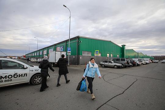 Крупнейший в Татарстане комплекс мелкооптовой торговли «Новая Тура» продан