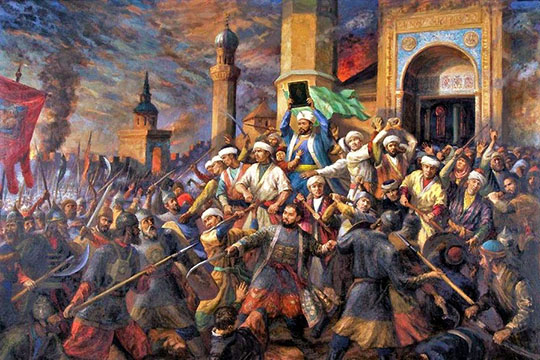 «Унас нет сведений, что вПоволжье были попытки восстановить Казанское ханство»