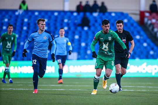 «Рубин» в гостях проиграл «СКА-Хабаровску» (0:1) и выбыл из Кубка России, заняв второе место в группе