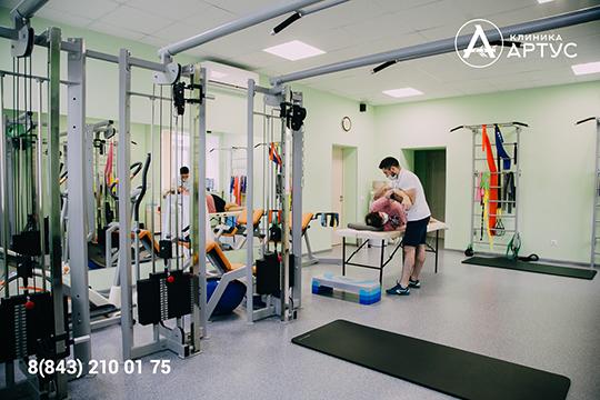 Клиникарасполагает физиотерапевтическим оборудованием экспертного уровня ивсем спектром специалистов для решения самых сложных задач