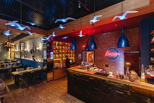 Ресторан можно бронировать ицеликом, ичастями. Зональное разделение ресторана идеально подходит для деловых переговоров