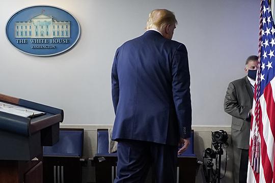«То, что он сказал, что даже если проиграет, примет участие в выборах 2024 года, на мой взгляд, это завуалированное признание поражения. Раньше он никогда так не говорил»