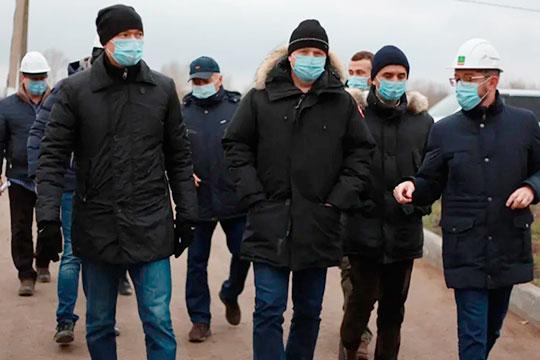 Вчера в Альметьевске, побывав в хирургическом корпусе новой детской больницы, Марат Айзатуллин в присутствии мэра нефтяной столицы Тимура Нагуманова подверг разгромной критике качество выполнения работ