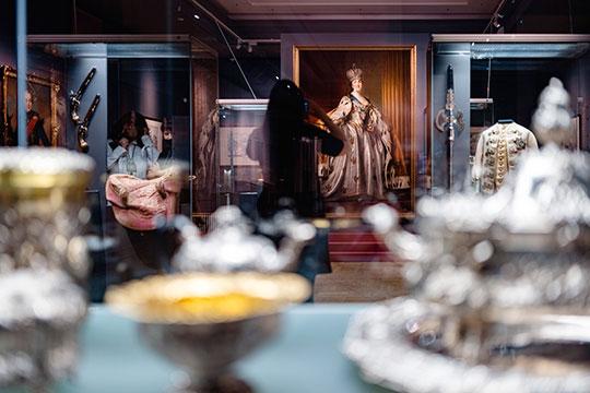 «Екатерина Великая. Золотой век Российской империи» — так называется выставка, которая открылась накануне в Казанском кремле