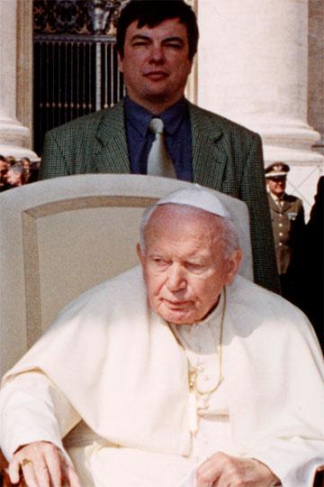 Дмитрий Хафизов и Папа Римский
