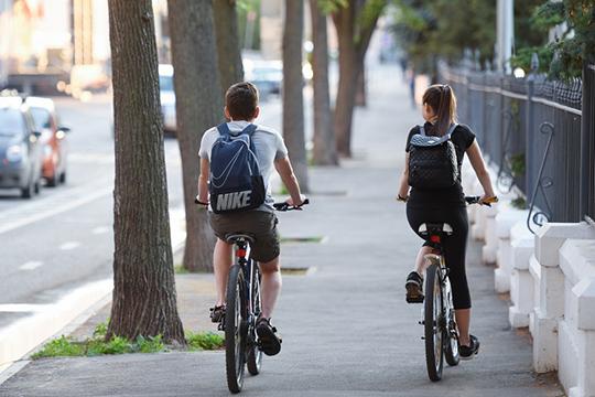 Вэтом году бюроподготовилоконцепцию развития велодорожек вКазани протяженностью 75км, готов квоплощению проект велополосы наул.Большая Красная иесли позволят финансы имзаймутся в2021 году