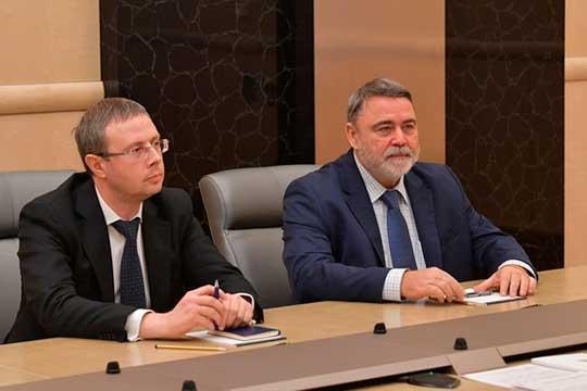 Максим Шаскольский (слева)занимал пост вице-губернатора Санкт-Петербурга