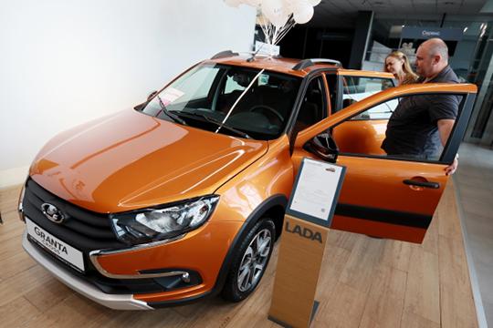 Lada — самое слабое звено на авторынке Татарстана. Отечественная марка растеряла в РТ 2542 покупателя или 17,7% до 11806 проданных авто