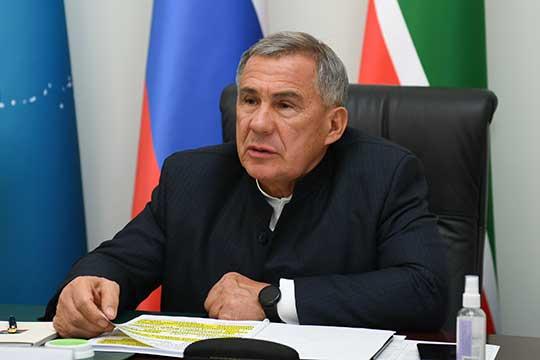 Рустам Минниханов: «Уже сейчас в республике подготовлен пул перспективных проектов»
