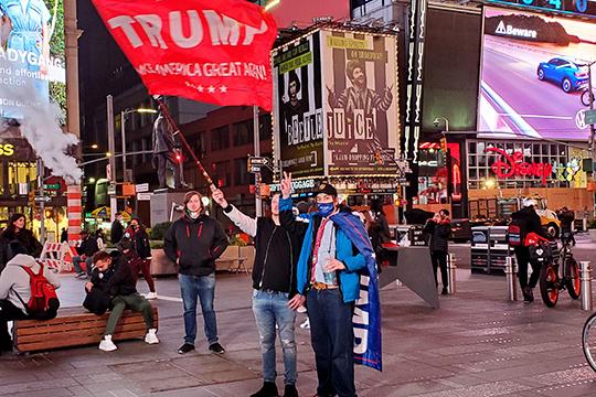 «Избиратели Трампа, вотличие отсветлоликих избирателей Байдена, никаких магазинов никогда небили. Аесли ибьют, томорду врага»