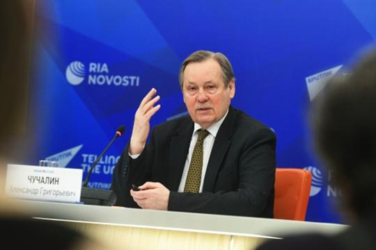 Александр Чучалин: «Мыдолжны адекватно отреагировать натевызовы, которые принесла эта пандемия. Акак это повлияет надобычу нефти игаза? Янеспециалист вэтой области»