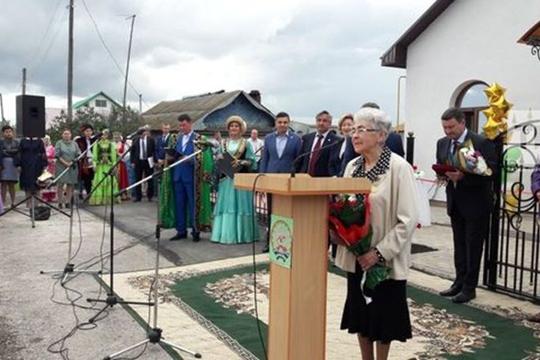 Открытие музея Фатиха Карима в Аитово