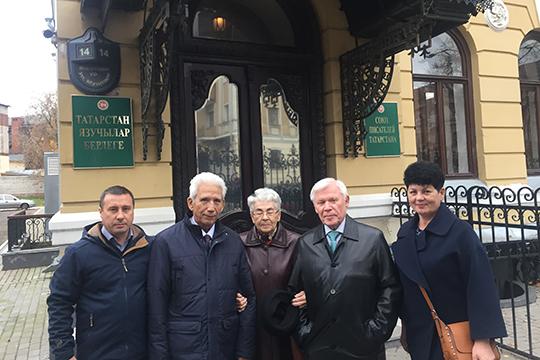 Лейля - гость из Калининграда и казанские друзья
