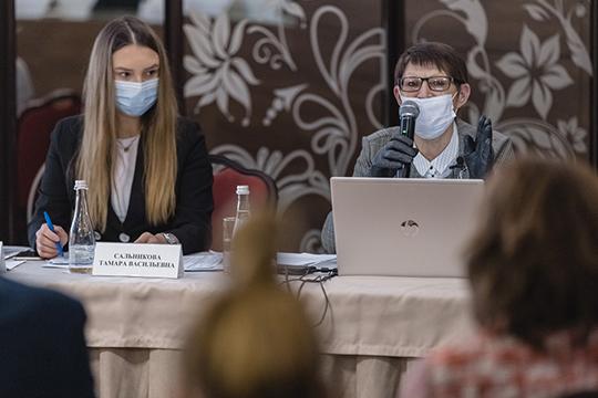 Тамара Сальникова: «Нельзя сегодня принять решение изавтра уже выйти настройку. Это, всилу действующих законодательных инормативно-правовых актов, непредставляется невозможным!»