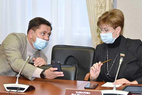 Илья Вольфсон и Роза Заббарова