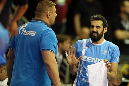 Алекно запрещал Маруфу делать обманные удары, поскольку они не проходили. Иранец старался сделать игру команды быстрее, но подобный стиль для игроков «Зенита» оказался непривычен