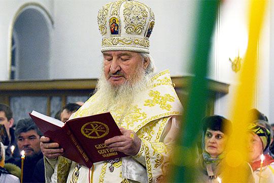 В 9:15 в столице России скончался митрополит Казанский и Татарстанский, владыка Феофан (Ашурков)