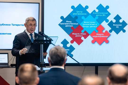 Вцифровой экосистеме Татарстана нарисовался отдельный отминцифры блок управления— под руководствомРифката Минниханова