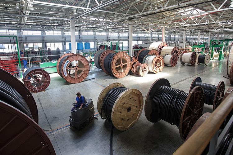 В2019 году «Таткабель» произвелпродукции на390млн рублей, тов2020 году— уже на4млрд рублей