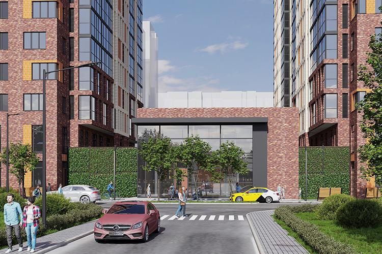 Примечательно, что фасадная часть стилобата будет украшена вертикальным озеленением. Это тоже своеобразный эксперимент для Казани— один изпервых случаев, когда вертикальное озеленение заложено науровне проекта многоквартирного дома
