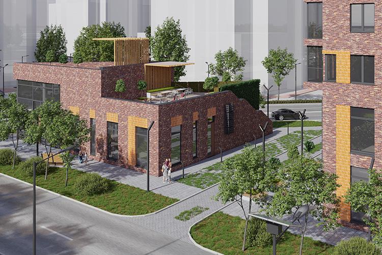 Картину современного благоустроенного двора дополнит дизайнерское ландшафтное озеленение. Безусловно, вся территория будет под круглосуточным видеонаблюдением инедоступна для посторонних