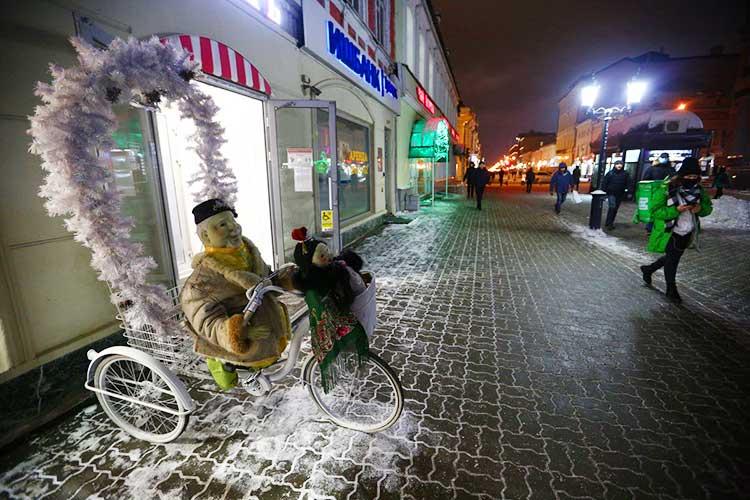 Началась подготовка кновогодним праздникам в Казани