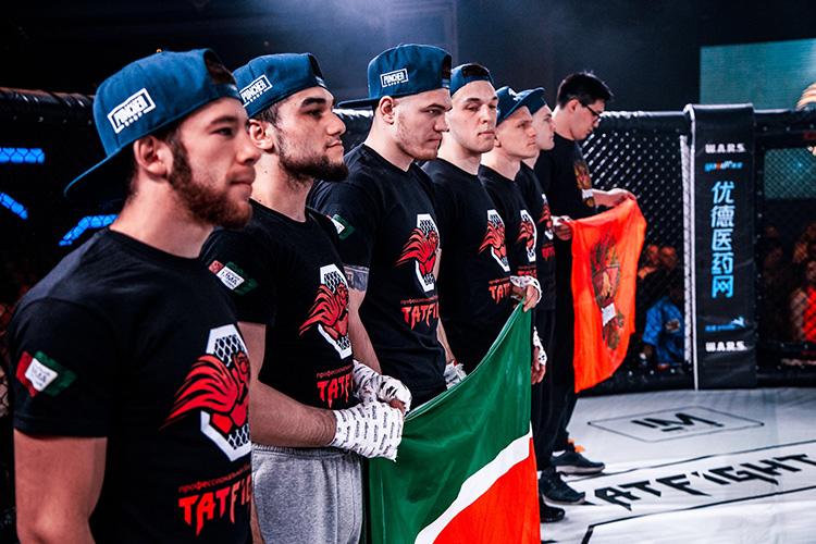 Международная лига поддерживает татарстанских бойцов смешанного стиля