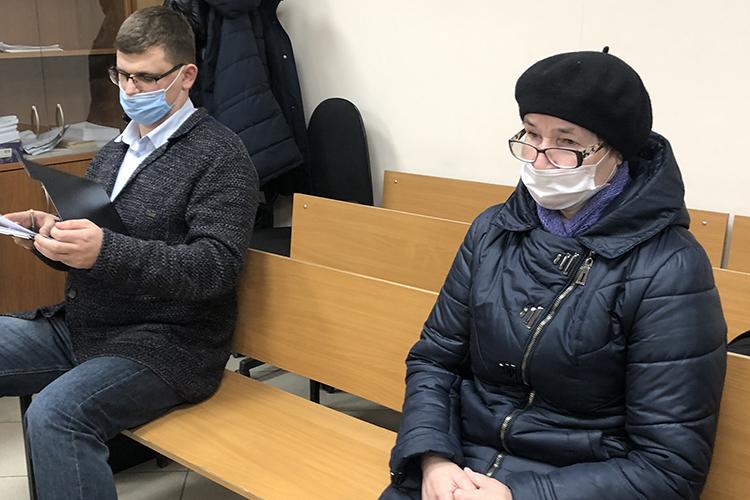 С марта этого года одним из главных свидетелей по делу Скорохода проходила его заместитель 61-летняя Аклима Мубаракшина (справа)