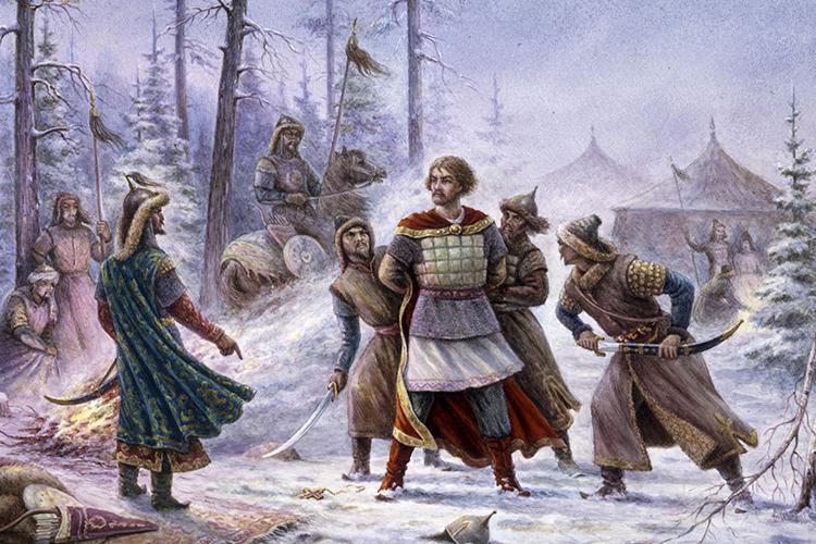 """«Говоря о хождении князей в Орду, или ко Двору, они не определяют, где находилась Орда, выражаются в таких случаях просто: """"Поиде в Орду"""", """"Прииде из Орды"""", не обозначая, где именно находилась Орда»"""