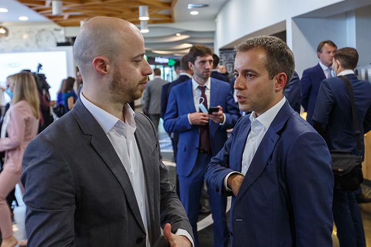 Как рассказал «БИЗНЕС Online» один из отцов-основателей города Николай Никифоров (справа), на самом деле это проект не на 190, а на 700 тысяч квадратных метров, которые планируются возвести в самом молодом городе России в 2021–2024 годах